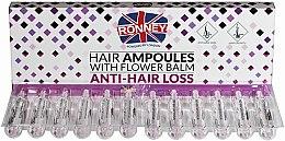 Parfumuri și produse cosmetice Fiole împotriva căderii părului - Ronney Professional Hair Ampoules With Flower Balm Anti-Hair Loss