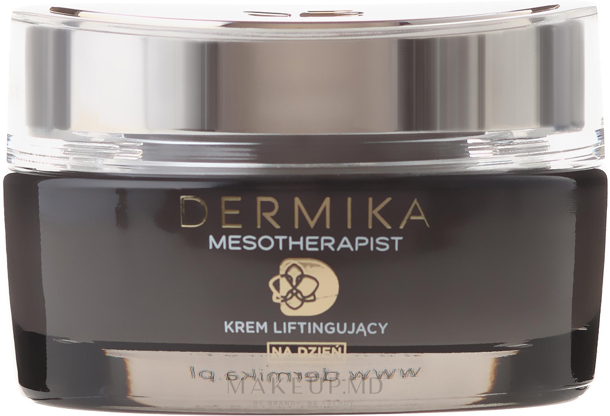 Cremă lifting pentru față - Dermika Mesotherapist Lifting Cream — Imagine 50 ml