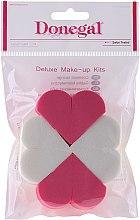 Parfumuri și produse cosmetice Burete de machiaj 9672, 8 bucăți - Donegal Deluxe Make-Up Kits