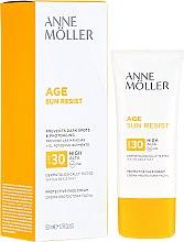 Parfumuri și produse cosmetice Cremă cu protecție solară pentru față - Anne Moller Age Sun Resist Protective Face Cream SPF30