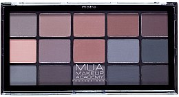 Parfumuri și produse cosmetice Paleta fard de ochi - MUA 15 Shade Palette