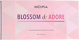 Parfumuri și produse cosmetice Paletă fard de obraz  - Moira Blossom & Adore Blush Palette