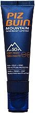 Parfumuri și produse cosmetice Balsam-cremă de buze cu protecție solară - Piz Buin Mountain Suncream + Lipstick SPF50