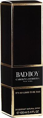 Carolina Herrera Bad Boy - Deodorant