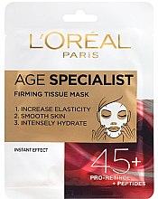 Parfumuri și produse cosmetice Mască pentru netezirea instantanee a pielii - L'Oreal Paris Age Specialist 45+
