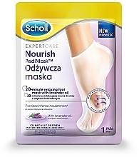 Parfumuri și produse cosmetice Mască pe bază de ulei de lavandă pentru picioare - Scholl Expert Care Foot Mask
