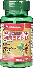 "Parfumuri și produse cosmetice Supliment alimentar ""Ginseng manchurian"" - Holland & Barrett Manchurian Ginseng 500mg"