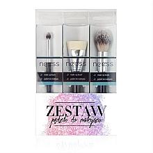 Parfumuri și produse cosmetice Set pensule pentru machiaj №2 - Neess