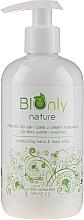 Parfumuri și produse cosmetice Loțiune hidratantă cu ulei de semințe de mac pentru mâini și corp - BIOnly Nature Moisturizing Hand & Body Lotion