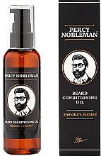 Parfumuri și produse cosmetice Ulei parfumat pentru barbă - Percy Nobleman Signature Beard Oil Scented