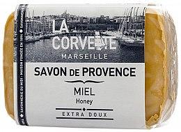 "Parfumuri și produse cosmetice Săpun provensal ""Miere"" - La Corvette Provence Soap Honey"