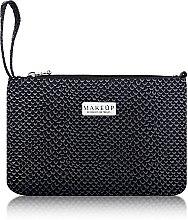 """Parfumuri și produse cosmetice Trusă cosmetică """"Dragon Skin"""" (15x23 cm), neagră - MakeUp"""