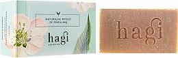 Parfumuri și produse cosmetice Săpun natural cu extract de iarbă de lămâie și spirulină - Hagi Soap