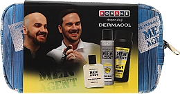 Parfumuri și produse cosmetice Set - Dermacol Men Agent Total Freedom (sh/gel/250ml + after/shave/lotion/100ml + deo/spray/150ml)