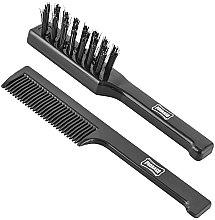Parfumuri și produse cosmetice Ulei pentru barbă și mustăți - Proraso Moustache Comb and Beard Brush Set (brush/2pcs)