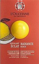 Parfumuri și produse cosmetice Scrub exfoliant pentru strălucirea pielii - L'Occitane Radiance Scrub (mostră)