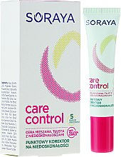 Parfumuri și produse cosmetice Corector de față - Soraya Care & Control Corrector