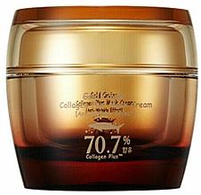 Parfumuri și produse cosmetice Cremă-mască pe bază de colagen cu extract de caviar - SkinFood Gold Caviar Collagen Plus Mask Cream