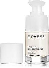 """Parfumuri și produse cosmetice Bază de machiaj """"Corectivă"""" - Paese Make-Up Base"""
