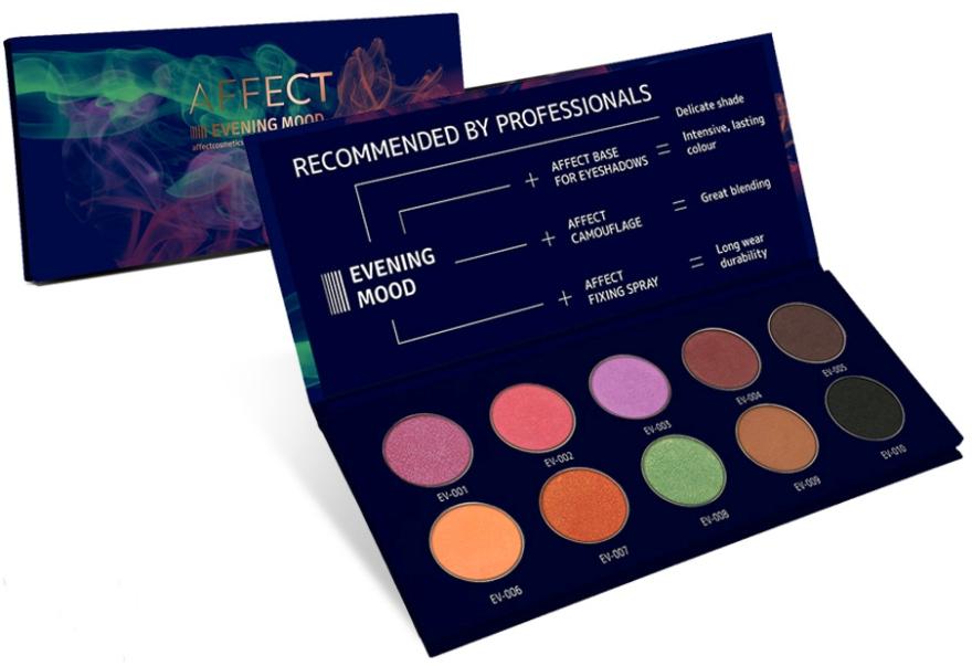 Paletă de Farduri de Pleoape - Affect Cosmetics Evening Mood Eyeshadow Palette