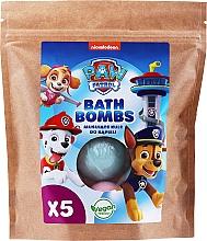 "Parfumuri și produse cosmetice Bombă pentru baie ""Mure și zmeură"" (doypack) - Nickelodeon Paw Patrol"