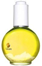Parfumuri și produse cosmetice Ulei pentru unghii și cuticule - Silcare Olive Shells Citron Yellow