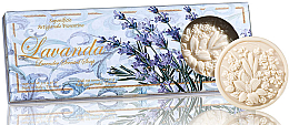 """Parfumuri și produse cosmetice Set săpunuri """"Lavandă"""" - Saponificio Artigianale Fiorentino Lavender Soap"""