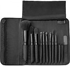 Parfumuri și produse cosmetice Set pensule pentru machiaj, 9 buc. - Alcina