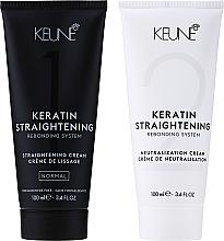 Духи, Парфюмерия, косметика Лечащая система кератинового выпремления - Keune Keratin Straightening Rebonding System Normal