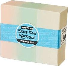 Parfumuri și produse cosmetice Săpun cu glicerină, aromă de căpșune - Beauty Jar Shake Your Milkshake Handmade Soap