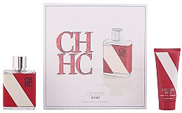 Parfumuri și produse cosmetice Carolina Herrera CH Men Sport - Set (edt/100ml+a/sh/balm/100ml)