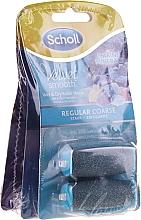 Parfumuri și produse cosmetice Duze role pentru pilă electrică - Scholl Velvet Smooth (3 x roller/2pcs)