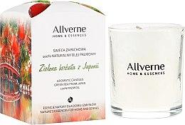 """Parfumuri și produse cosmetice Lumânare aromatică """"Ceai verde"""" - Allverne Home&Essences Candle"""