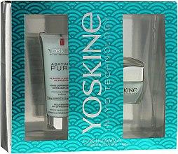 Parfumuri și produse cosmetice Set - Yoskine Okinava Green Caviar 50+ (cr/50ml + peeling/75ml)