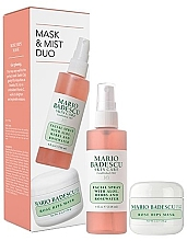 Parfumuri și produse cosmetice Set - Mario Badescu Rose Mask & Mist Duo Set (mask/56g+spray/118ml)