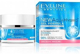 Parfumuri și produse cosmetice Gel hidratant pentru pielea uscată și sensibilă - Eveline Cosmetics Aqua Hybrid Gel