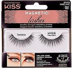 Parfumuri și produse cosmetice Gene false cu magneți - Kiss Magnetic Lashes Double Strength KMEL 04 Tantalize