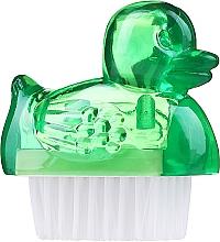 Parfumuri și produse cosmetice Perie pentru unghii, 3467, verde - Deni Carte Duck's Brush