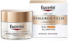 Духи, Парфюмерия, косметика Антивозрастной дневной крем для всех типов кожи - Eucerin Anti-Age Elasticity+Filler Day Cream SPF 30