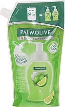 Parfumuri și produse cosmetice Săpun-spumă pentru mâini - Palmolive Magic Softness Foaming Handwash Lime & Mint (doy-pack)