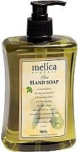 Parfumuri și produse cosmetice Săpun lichid cu extract de olive - Melica Organic Olive Liquid Soap