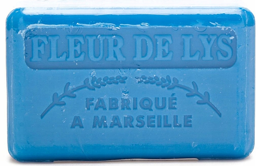 "Săpun de Marsilia ""Crin"" - Foufour Savonnette Marseillaise Fleur de Lys"