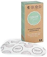 Parfumuri și produse cosmetice Absorbante de zi, 30 buc. - Ginger Organic