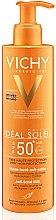 Parfumuri și produse cosmetice Lapte de Corp cu protecție solară - Vichy Ideal Soleil Anti-Sand Milk SPF50+