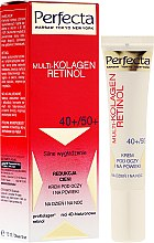 Parfumuri și produse cosmetice Cremă pentru zona din jurul ochilor - Dax Cosmetics Perfecta Multi-Collagen Retinol Eye Cream 40+/50+