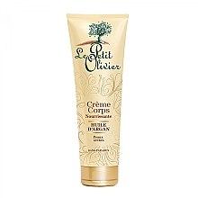 Parfumuri și produse cosmetice Crema hrănitoare pentru corp - Le Petit Olivier Organic Care with Argan Oil