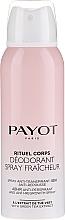 Parfumuri și produse cosmetice Deodorant antiperspirant - Payot Rituel Corps 48H Antiperspirant Alcohol Free