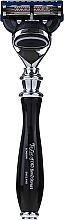 Parfumuri și produse cosmetice Aparat de ras, 15542B - Taylor Of Old Bond Street Fusion Gray/Black Victorian Handle
