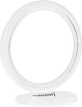 Parfumuri și produse cosmetice Oglindă cosmetică, 12 cm, 9504, albă - Donegal Mirror