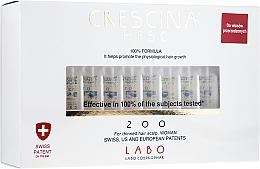 Parfumuri și produse cosmetice Loțiune- concentrat pentru stimularea creșterii părului, femei 200 - Labo Crescina HFSC 200 Re-Growth Woman